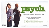 Psych Seasons 5 - 8 Trading Cards Box (Cryptozoic 2015)