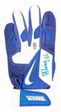 Yasiel Puig Autographed Los Angeles Dodgers Nike Batting Glove (Puig Hologram)