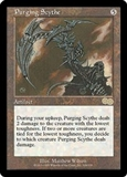 Magic the Gathering Urza's Saga Single Purging Scythe UNPLAYED (NM/MT)