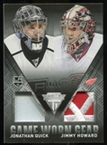 2013-14 Panini Titanium Game Worn Gear Dual Memorabilia Patch #GDQH Jonathan Quick Jimmy Howard 14/15