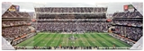 Artissimo Oakland Raiders Panoramic County Coliseum Stadium 30x10 Canvas