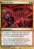 Magic the Gathering Dissension Single Rain of Gore UNPLAYED (NM/MT)