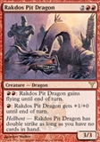 Magic the Gathering Dissension Single Rakdos Pit Dragon UNPLAYED (NM/MT)