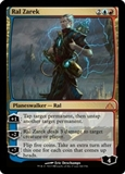 Magic the Gathering Dragon's Maze Single Ral Zarek Foil - HEAVY PLAY (HP)