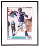 Randall Cunningham Autographed Minnesota Vikings Framed 8x10 Photo (Mounted Memories)