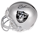 Randy Moss Autographed Oakland Raiders Riddell Mini Helmet (Sports Images)