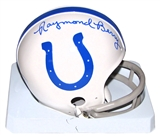 Raymond Berry Autographed Baltimore Colts Mini Helmet (Tristar COA)