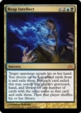 Magic the Gathering Dragon's Maze Single Reap Intellect UNPLAYED (NM/MT)