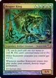 Magic the Gathering Shadowmoor Single Reaper King FOIL - SLIGHT PLAY (SP)