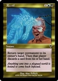Magic the Gathering Invasion Single Recoil FOIL