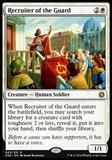Magic the Gathering Conspiracy 2 Single Recruiter of the Guard FOIL - NEAR MINT (NM)