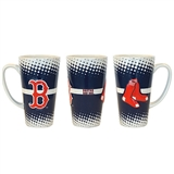 Boston Red Sox Sculpted Latte Coffee Mug