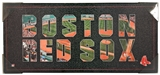 Artissimo Boston Red Sox Team Pride 26x12 Canvas