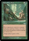 Magic the Gathering Nemesis Single Refreshing Rain FOIL