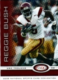2006 Sage Reggie Bush Rookie National Convention Exclusive - 100 Card Lot