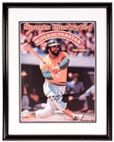 Reggie Jackson Autographed Oakland Athletics Sports Illustrated Framed 8x10 Photo (UDA)