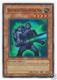 Yu-Gi-Oh Raging Battle Single Reinforced Human Psychic Borg Super Rare
