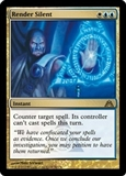 Magic the Gathering Dragon's Maze Single Render Silent - NEAR MINT (NM)