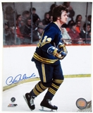 Rene Robert Autographed Buffalo Sabres 8x10 Throwback Hockey Photo