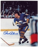 Rene Robert Autographed Buffalo Sabres 8x10 Shooting Hockey Photo