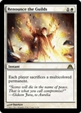 Magic the Gathering Dragon's Maze Single Renounce the Guilds FOIL - NEAR MINT (NM)