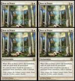Magic the Gathering Return to Ravnica PLAYSET Rest In Peace - 4x NEAR MINT/SLIGHT PLAY (NM/SP)