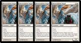 Magic the Gathering Avacyn Restored PLAYSET 4x Restoration Angel - NEAR MINT (NM)