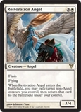 Magic the Gathering Avacyn Restored Single Restoration Angel UNPLAYED (NM/MT)