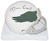 Roman Gabriel Autographed Philadelphia Eagles Throwback Mini Helmet (1969-73)