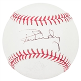 Ron Guidry Autographed New York Yankees Rawlings Official MLB Baseball (JSA COA)