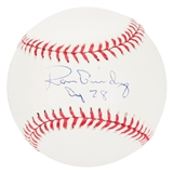 Ron Guidry Autographed New York Yankees Official MLB Baseball (Steiner)