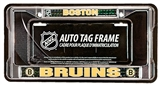 Rico Tag Boston Bruins Domed Chrome Licensed Plate Frame