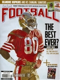 2014 Beckett Football Monthly Price Guide (#280 May) (Jerry Rice)