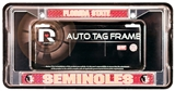 Rico Tag Florida State Seminoles Domed Chrome Licensed Plate Frame