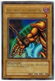 Yu-Gi-Oh BEWD Single Right Arm Of The Forbidden One Ultra Rare (LOB-122) SLIGHT PLAY