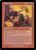 Magic the Gathering Onslaught Single Risky Move UNPLAYED (NM/MT)