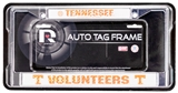 Rico Tag Tennessee Volunteers Domed Chrome Licensed Plate Frame