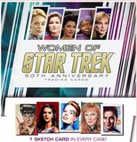 The Women of Star Trek 50th Anniversary Trading Cards Box (Rittenhouse 2017) (Presell)