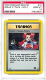 Pokemon Team Rocket Single Trainer Rocket's Sneak Attack 16/82 - PSA 10 - *21822825*