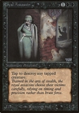 Magic the Gathering Beta Single Royal Assassin - MODERATE PLAY (MP)