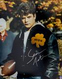 Sean Astin Autographed Rudy Coat 16x20 Photo