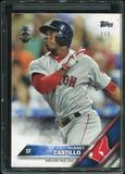 2016 Topps Baseball Hawaii Summit Exclusive #75 Rusney Castillo 1/1