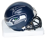 Russell Wilson Autographed Seattle Seahawks Mini Helmet (Mill Creek COA)