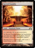Magic the Gathering Gatecrash Single Sacred Foundry - NEAR MINT (NM)
