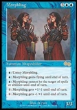 Magic the Gathering Urza's Saga Single Morphling - MODERATE PLAY (MP)