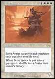Magic the Gathering Urza's Saga Single Serra Avatar LIGHT PLAY (NM)