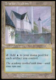 Magic the Gathering Urza's Saga Single Tolarian Academy UNPLAYED (NM/MT)