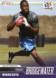2014 Sage National Exclusive Promo #N3 Teddy Bridgewater Rookie