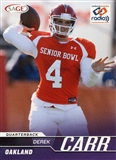 2014 Sage National Exclusive Promo #N4 Derek Carr Rookie