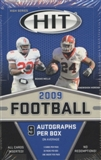 2009 Sage Hit High Series Football Hobby Box